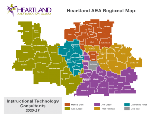 AEA InstructionalTechnology Map 2020 21