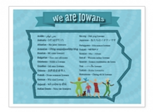 We Are Iowans poster B501A6B8855B7