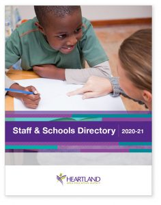 Cover image of 2020-21 Staff and Schools Directory