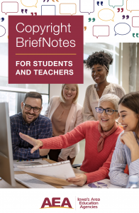 Image of cover of CopyrightBriefNotes for Students & Teachers
