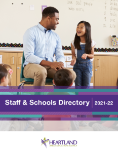 Image of front cover of Staff & Schools Directory